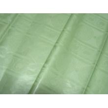 Мода супер дамасской Shadda Базен riche Гвинея brocade 100%хлопок Западно-африканских одежды ткани светло-зеленого цвета