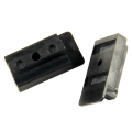 Plastic T clips for decking