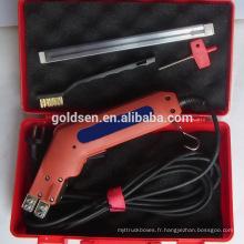 """250mm 10 """"250W Professional Coupe en mousse Couteau Outil Portable Handheld Électrique EPS mousse Cutter GW8122"""
