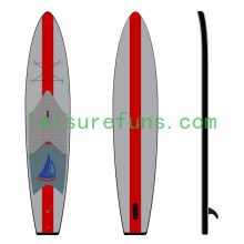 billiger aufblasbare Racing Paddle Boards