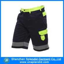 Wholesale High Quality Cotton Fluo Hi Vis Mens Cargo Pants