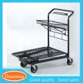 universal shop retail chromed supermarket warehouse hand trolley