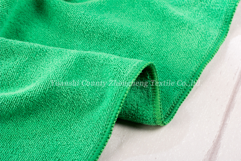 Weft Knitting Microfiber Towel-017