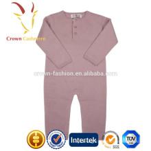 Hot vente bébé garçon tricot vêtements barboteuse