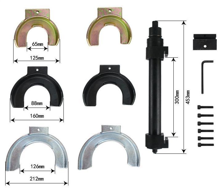 4 coil spring compressor