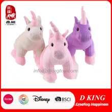 Three Colors Cute Plush Unicorn Toy