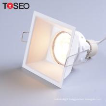 Downlight lighting 2700K-4000K deep recessed anti glare housing  led small downlight