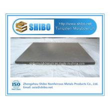 Plaque de tungstène de grande pureté 99.95% de fabricant professionnel avec la qualité exceptionnelle