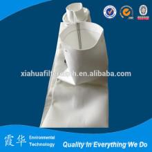Estojo de saco de filtro de poeira de fibra de poliéster