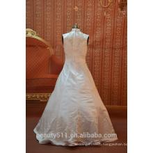 IN STOCK Muslim wedding dress sleeveless floor-length bridal dresses SW47