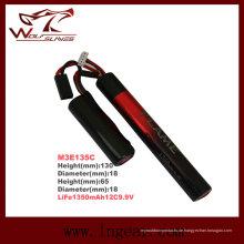 Leben 1350mAh12c 9.9V LiFePO4 LFP Airsoft Cqb/R Batterie M3e135c