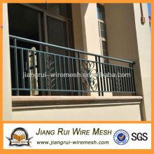 Varanda de aço nova varanda guardrail
