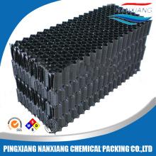 Счетчик потока градирни заполнения пакета, стояк водяного охлаждения frp фильтр, ПВХ градирни заполняет упаковки
