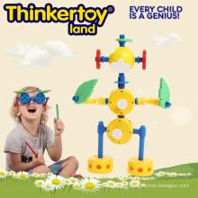 Brinquedos Toy fontes educacionais, Hard Plastic Robot Toy