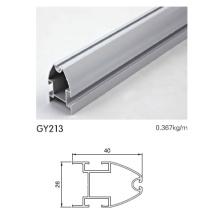 Guarda-Roupa Perfil de alumínio usado em prata anodizada