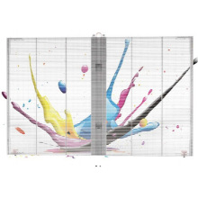 Glass Wall P3.75 P10 Panel de pantalla LED transparente