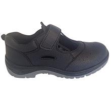 Upper Split Embossed Leather Sole PU Working Footwear