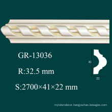 Luxury and Fashionable Cornice 2015 PU Moulding Art Ceiling Decoration