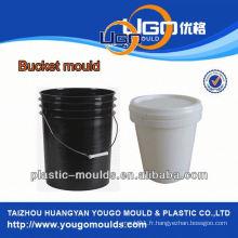 Fabrication de moules à godets industriels / nouveau moule en plastique de seau de conception en Chine moule à godet d'injection