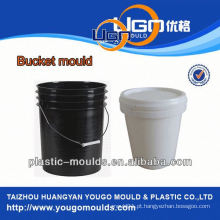 Fábrica de moldes de balde industrial / novo molde de plástico de balde de design no molde de balde de injeção de China