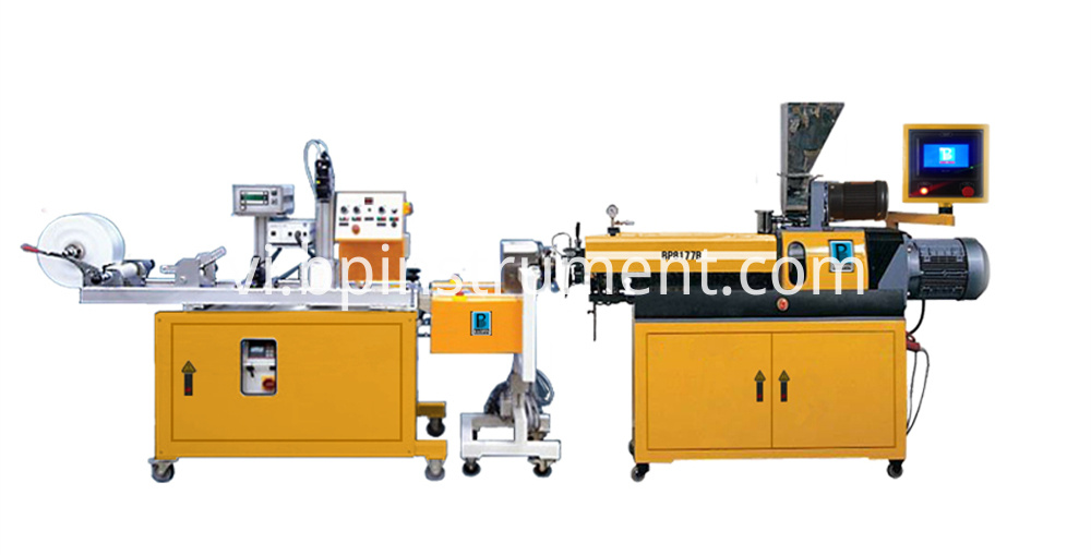 Single Screw Plastic Sheet Extrusion Line