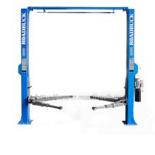 pneumatic car lift 2 post car lift for 3D wheel alignment tire changer