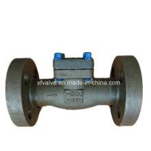 API602 1500lb 2500lb de acero forjado A105 brida de válvula de retención final