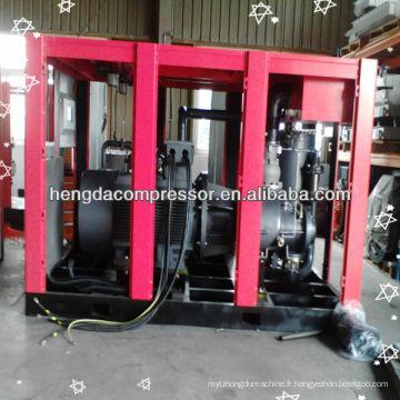 Compresseur d'air de vis d'entraînement de ceinture de 11kw avec le réservoir, le dessiccateur, le filtre