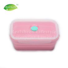 Silicone Collapsible Food Storage Lunch Box