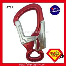Aluminum Captive eye Snap Large Double Action hook