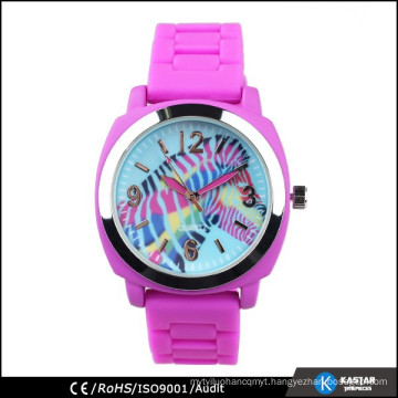 Silicone watch best sale watch brand Horse printed watch