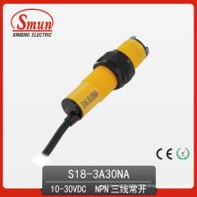 Sensor fotoelétrico do interruptor fotoelétrico (S18-3A30NA)