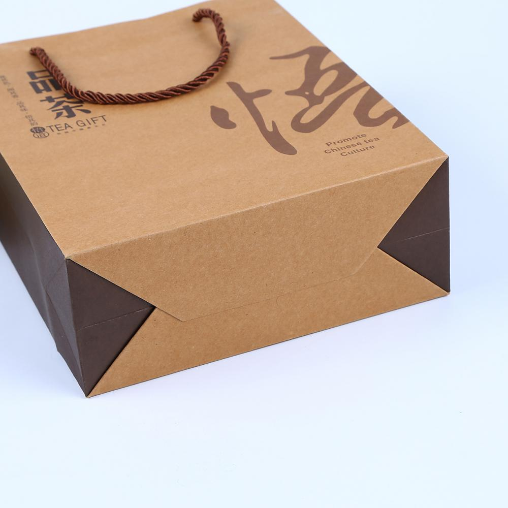 Hot Sale Food Grade Brown Kraft Paper Bag