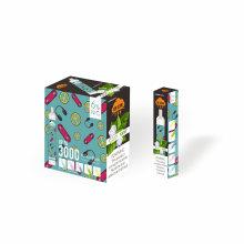 3000 bouffées de cigarette électronique jetable rechargeable