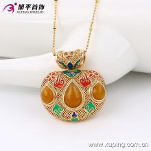 Moda legal banhado a ouro pingente de imitação de jóias em liga -32499