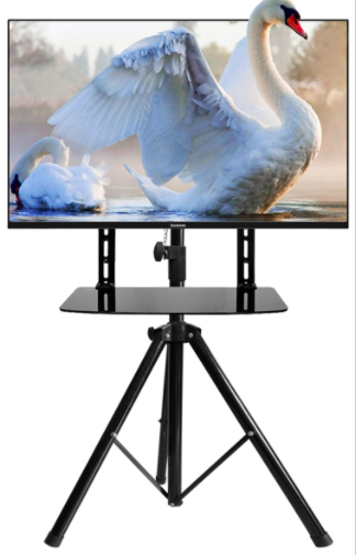 EM44 tripod TV stand with TV