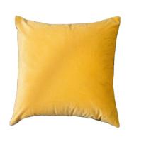Nordic plain fleece pillow living room sofa cushion office waist pillow decorative pillows