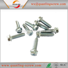 Wholesale china products 5.5*20mm slotted hex flange head machine screw