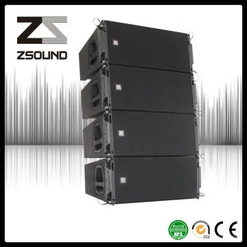 """Double haut-parleur de rangée de ligne de concert de 10 """", système audio d'étape pour le stade"""
