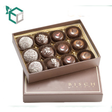 Accept Custom Order and Paper Material chocolate box with paper divider