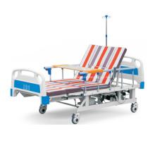 Lit d'hôpital médical électrique de bonne qualité multifonctionnel