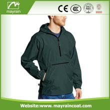 Men' s Casual Waterproof Custom Rain Jacket