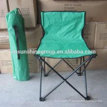 Chaise de Camping pliante petit sans bras taille adulte