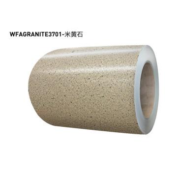 Stone pattern aluminum coil