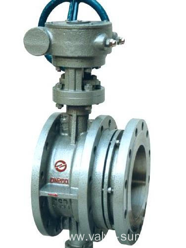 Flexible butterfly valve