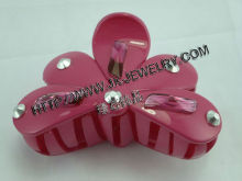 Yiwu Jeweled Plastic Hair Claws Accessory Hair and Jewelry
