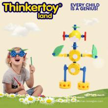 DIY пластиковые формы человека модели образования игрушки дети головоломки