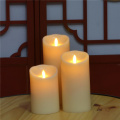 Lilin LED Flickering Flameless dengan Bergerak Flame
