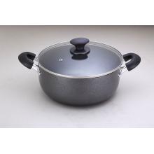 9 Quart alumínio antiaderente holandês forno Cookware Induction Bottom