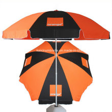 Custom Logo Printing Advertising Parasol Umbrella Beach Umbrella
